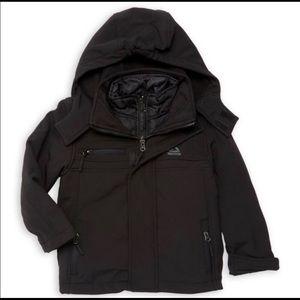 Reebok Boys Active Zipped Jacket With Hood 4T